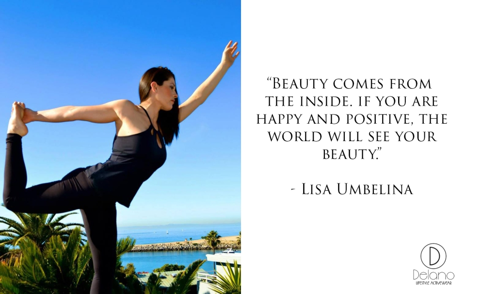 Interview With :    Lisa Umbelina, Yoga Instructor and Fitness Guru